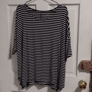 American Eagle Soft & Sexy Striped Tee